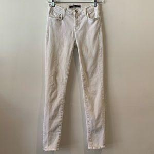 J Brand White Skinny Jeans Size 25